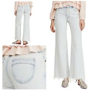 Free People Gold Coast High Rise Flare Jeans
